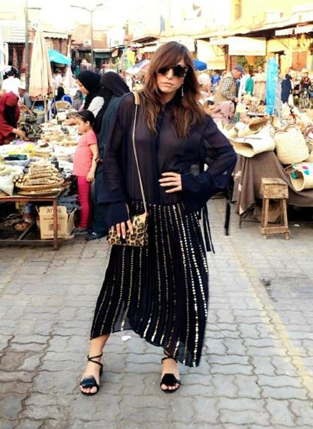 Sabrina Sato no Marrocos (Crédito: Divulgação)