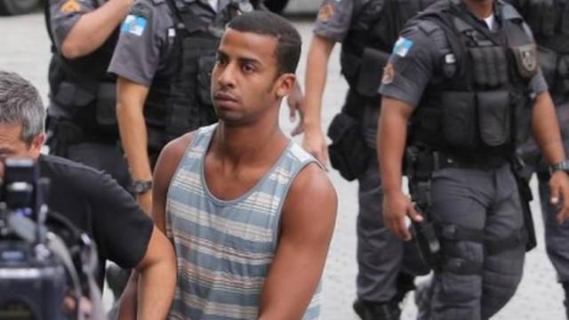 Raí sendo preso (Crédito: Reprodução)