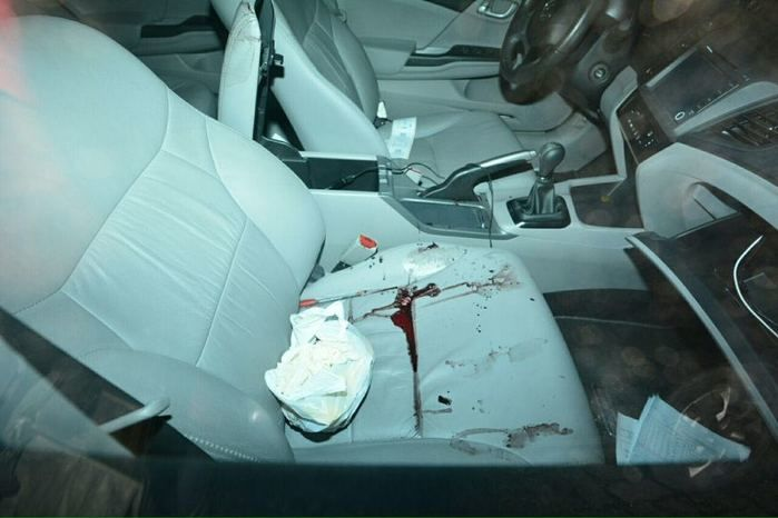 Veículo onde Melquisedeque da Paixão Dias foi assassinado