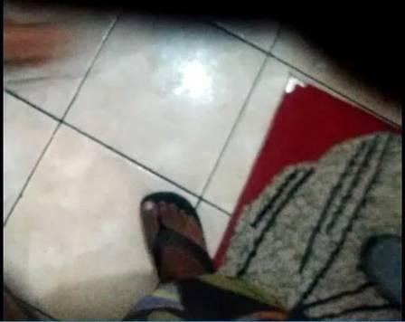 Chinelo no vídeo (Crédito: Reprodução)