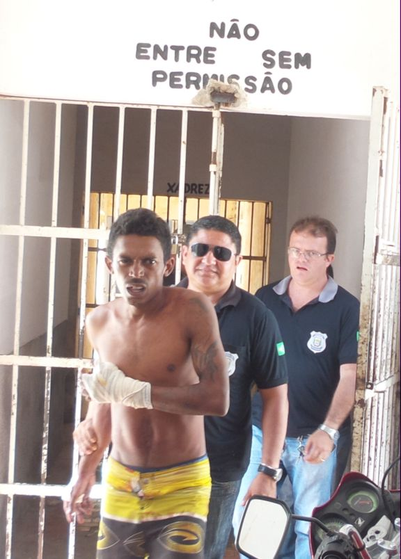 Acusado tentou fugir de penitenciária (Crédito: Reprodução)
