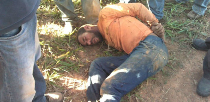 Jairo Lopes, 42, foi preso na zona rural de Joaquim Felício (MG) (Crédito: Reprodução)