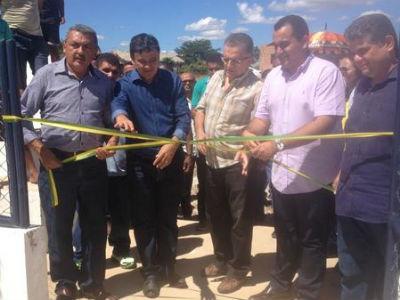 Inauguração de obras em Arraial PI.