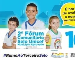Vila Nova realiza 2º Fórum Comunitário do UNICEF dia 16