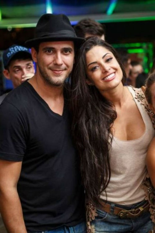 André Marques e Aline Riscado já tiveram romance