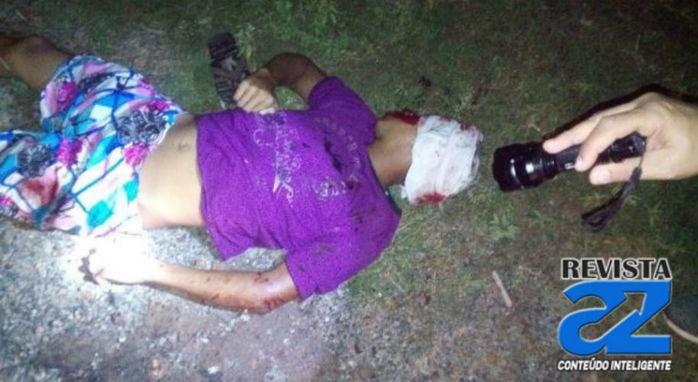 Jovem foi encontrado morto na noite de ontem (08) (Crédito: Revista AZ)