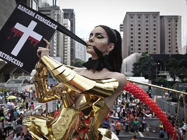 Parada Gay 2016 (Crédito: Reprodução)