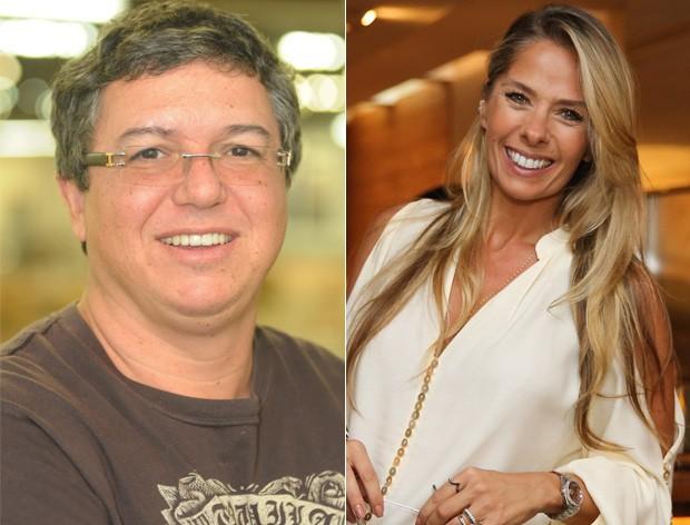 """Boninho alfineta Adriane Galisteu:""""Ela que pediu para falar comigo"""" (Crédito: Reprodução)"""