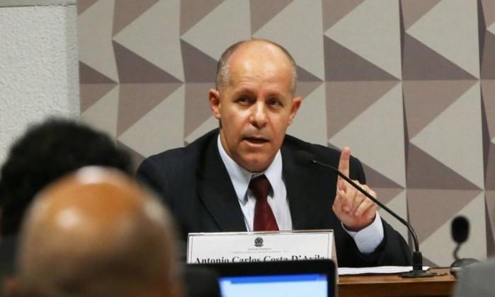 O auditor do TCU Antonio Carlos Costa D'Ávila (Crédito: Reprodução)