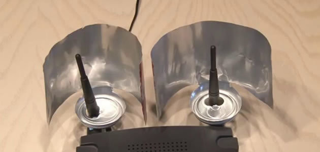 Aprenda a ampliar o seu sinal Wi-Fi com uma lata de cerveja