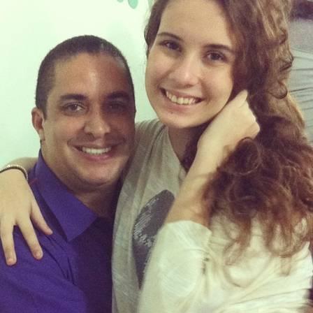 Waguinho e a filha (Crédito: reprodução)