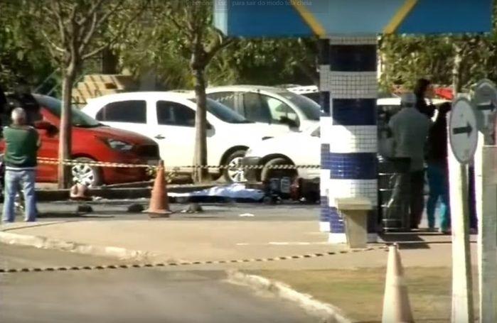 Assaltante foi morto após disparo acidental (Crédito: Reprodução)