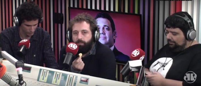 Gregório Duvivier e o deputado federal Marco Feliciano (Crédito: Reprodução)
