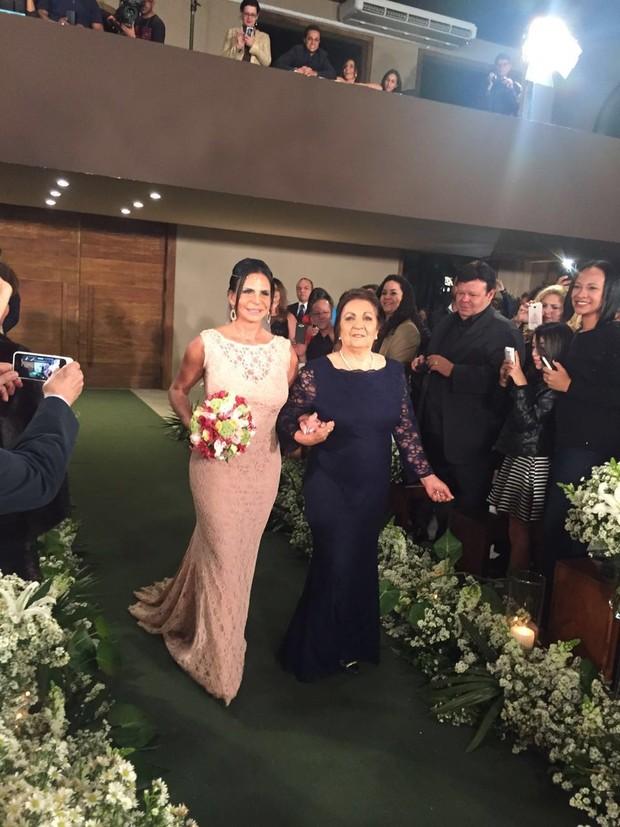 Casamento de Gretchen (Crédito: Reprodução)