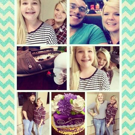 O Pai publicou fotos com as filhas em montagem