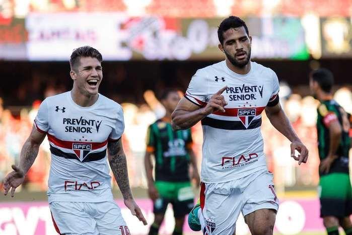 São Paulo bate América-MG e se reabilita no Brasileiro (Crédito: reprodução)