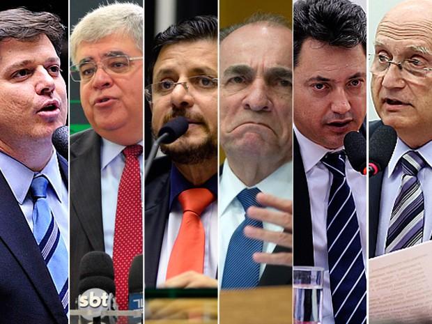 Candidatos à presidência da Câmara (Crédito: Reprodução)