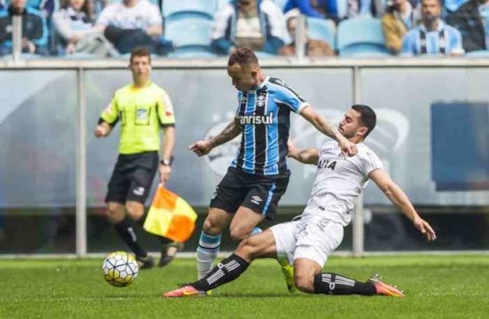 Grêmio e Figueirense (Crédito: Reprodução)