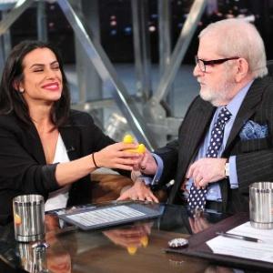 """Cleo Pires em entrevista no """"Programa do Jô"""""""