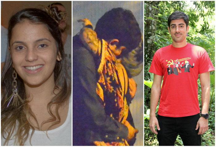 Marcelo Adnet e Lara Vaz (Crédito: Reprodução)