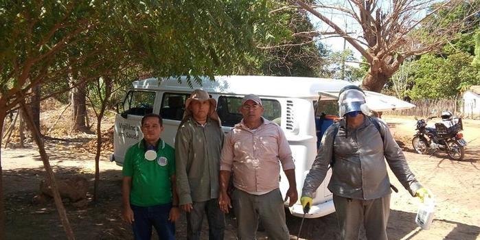 SMS de Lagoinha Realiza Bloqueio de Vetores de Calazar na Cidade