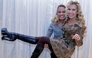 Natalia Sarraff e Joelma (Crédito: Divulgação)