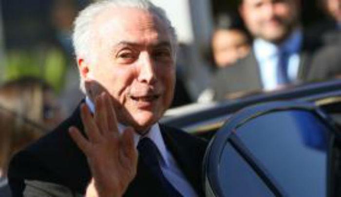Presidente interino Michel Temer participou de almoço com parlamentares da Frente Parlamentar da Agropecuária (Crédito: Agência Brasil)