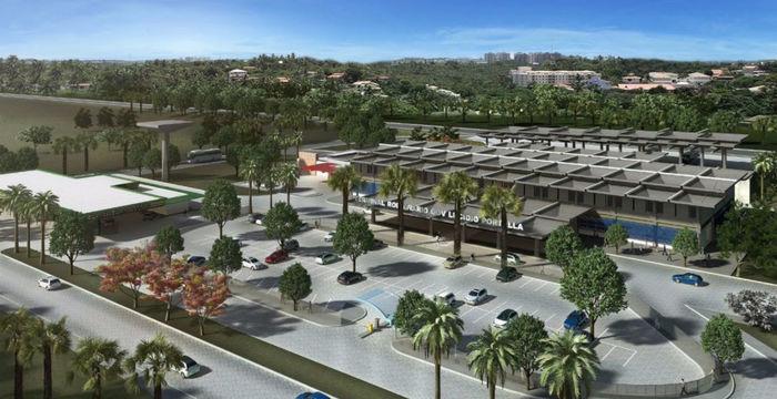 Projeto de reforma do Terminal Rodoviário de Teresina (Crédito: Reprodução)