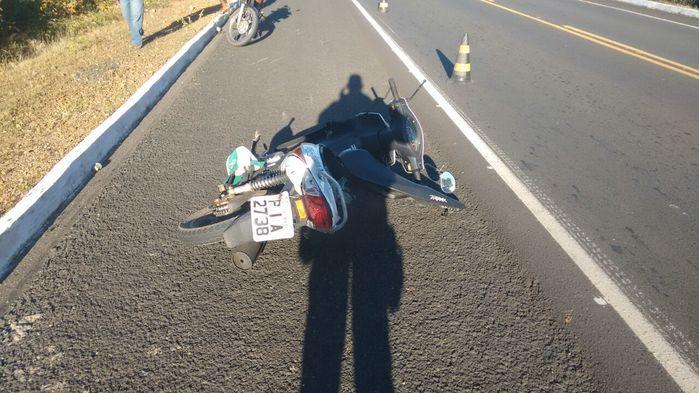Acidentes de moto em Oeiras