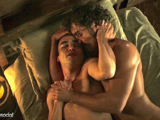 Cena de sexo gay em 'Liberdade, Liberdade' repercute na internet (Crédito: Reprodução)