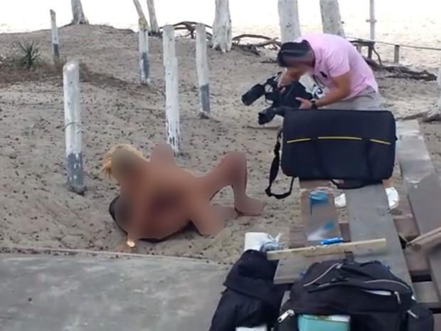 Polícia investiga ato obsceno de atores em filmagens no Rio (Crédito: Reprodução)