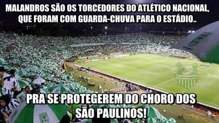 Derrota de São Paulo vira meme e rivais se divertem (Crédito: Reprodução)