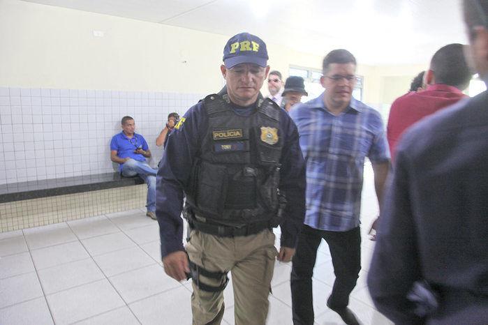 Advogado Higo Martins foi conduzido para a Central de Flagrantes