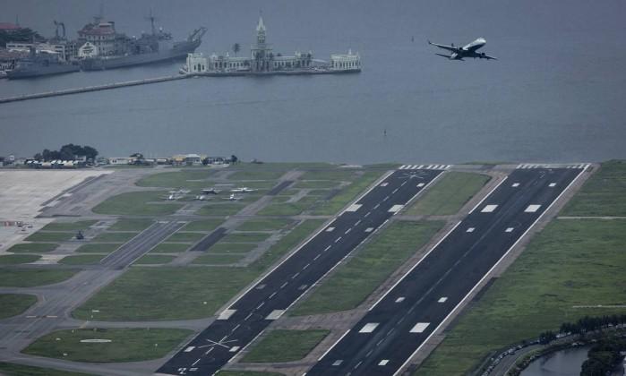 Aeroporto Santos Dumont (Crédito: O Globo)