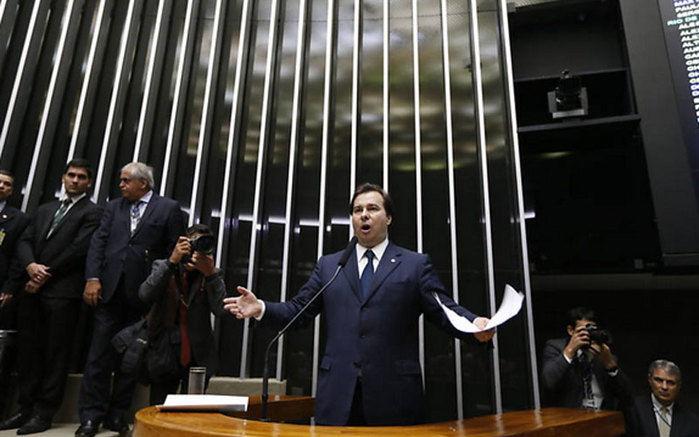 Rodrigo Maia  (Crédito: Folhapress)