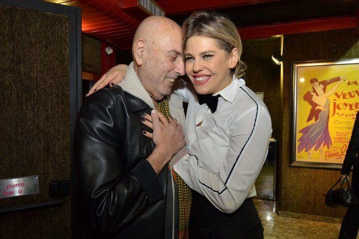 Hector Babenco e Bárbara Paz (Crédito: Reprodução)