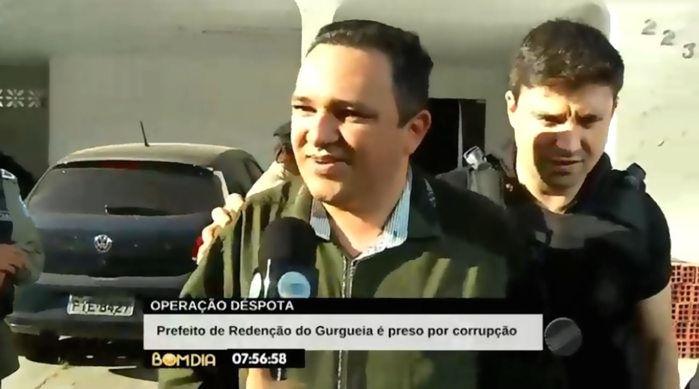 Prefeito de Redenção é preso por corrupção