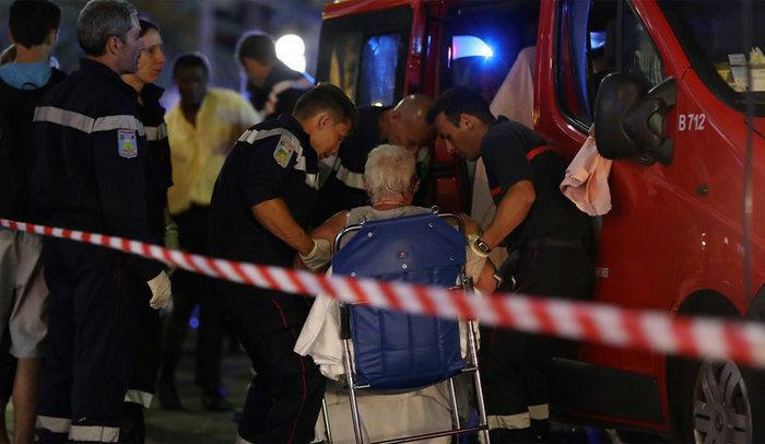 Caminhão atropelou multidão em Nice (Crédito: AFP)