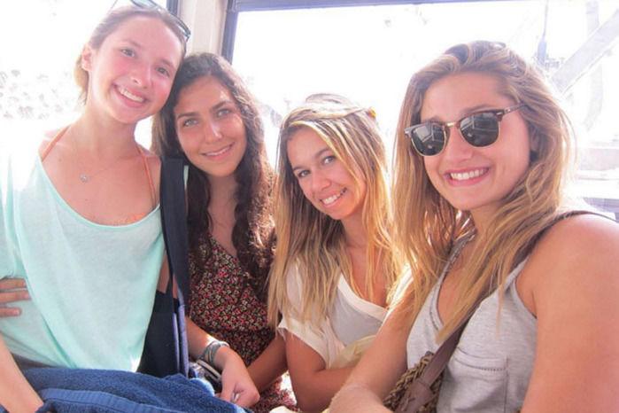 Sasha com amigas (Crédito: Instagram)