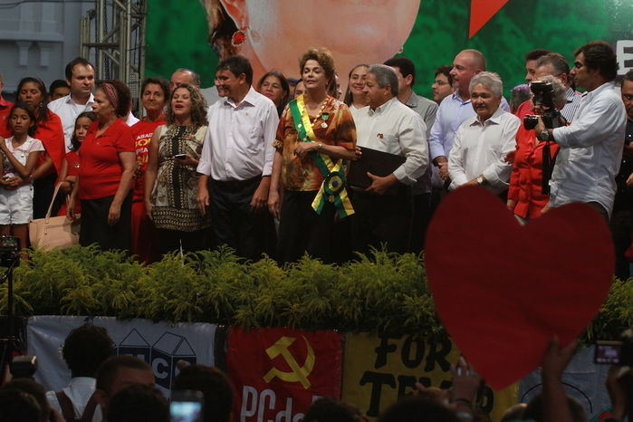 Dilma em Teresina (Crédito: Kelson Fontenele)