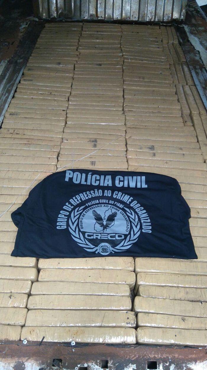 Apreensão da Polícia Civil (Crédito: Reprodução )