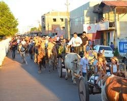 IV Cavalgada e Concurso de Carro de Boi abrem 41ª ExpoCorrente