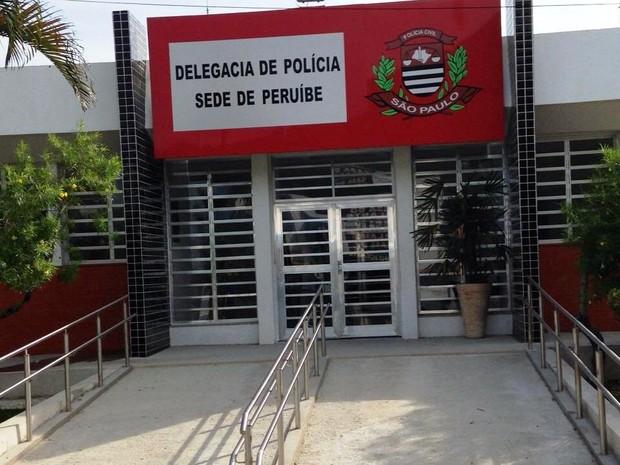 Delegacia sede de Peruíbe, no litoral de São Paulo (Crédito: G1)