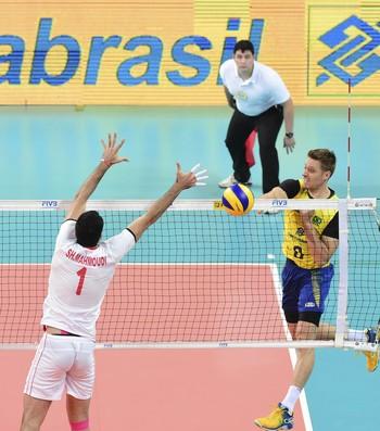 Murilo foi cortado da lista para Olimpíadas (Crédito: Divulgação/FIVB)