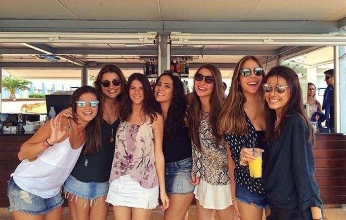 Sasha em viagem com amigas  (Crédito: Reprodução/ Instagram)