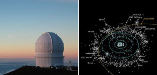 Descoberto novo planeta anão feito de gelo
