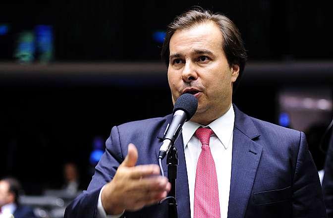 Presidente da Câmara, Rodrigo Maia (Crédito: Reprodução)