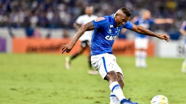 Riascos em atuação pelo Cruzeiro (Crédito: Gazeta Press)