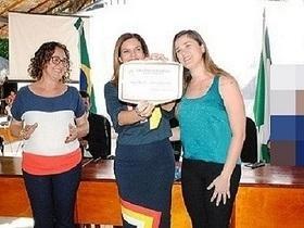 Iracema Portela é outorgada pela câmara com Título de Cidadania