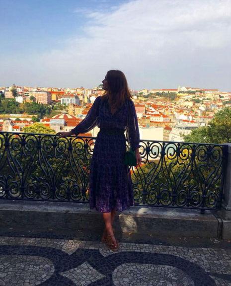 Marina Ruy Barbosa faz tour por Portugal após viagem pela Ásia (Crédito: Reprodução)